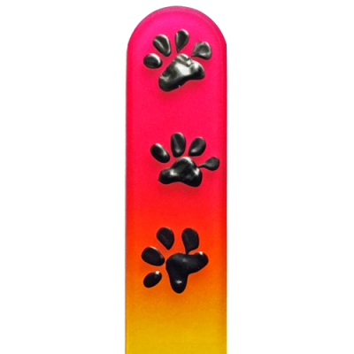 103000 Paw Prints Black